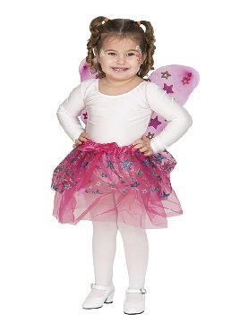 kit de mariposa estrellitas infantil alas y tutu