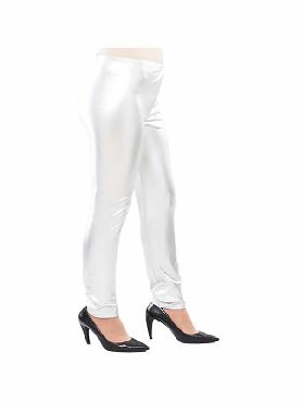 leggins brillantes plata adulto