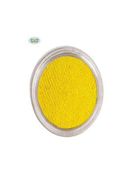 maquillaje amarillo al agua 15grs