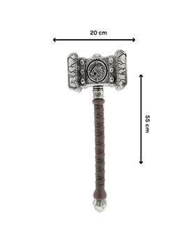 martillo de guerrero plastico