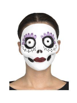 mascara de catrina de pesadilla