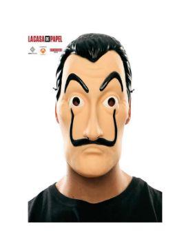 mascara de dali la casa de papel