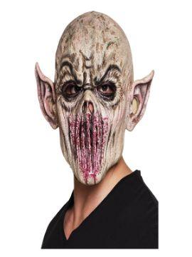 mascara de demonio boca cosida adulto
