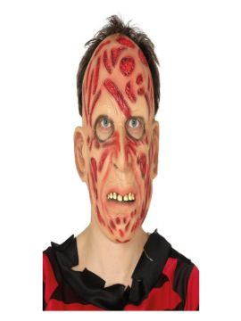 mascara de freddy latex adulto