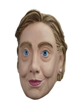 mascara de hilary clinton adulto