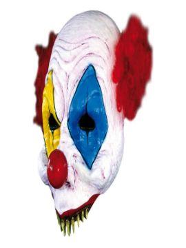 mascara de payaso abierta halloween