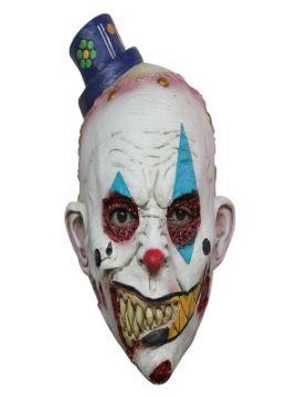 mascara de payaso chungo latex infantil