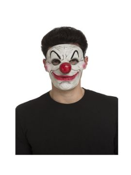mascara de payaso con mofletes