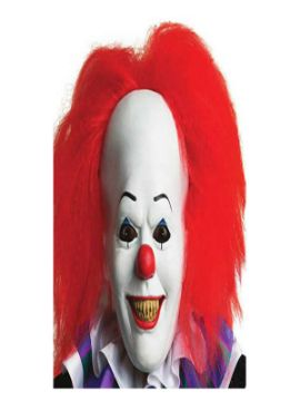 mascara de pennywise it the movie de latex adulto