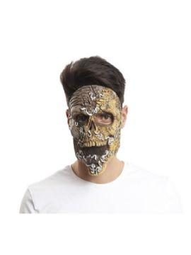 mascara de putrefacto con gusanos