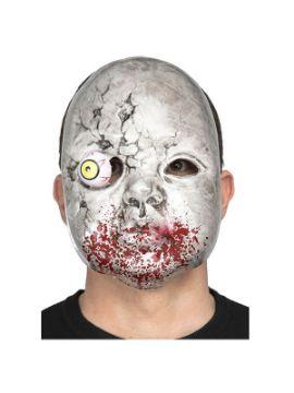 mascara de zombie con ojo