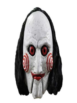 mascara del titere billy de saw adulto