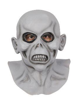 mascara extraterrestre de latex cubre cabeza