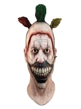 mascara the clown american horror story con boca de latex