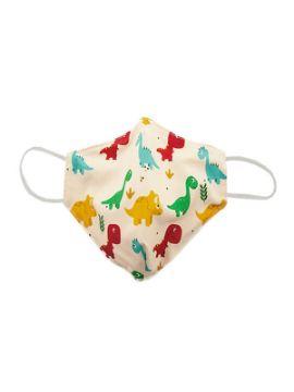 mascarilla de dinosaurios reutilizable infantil