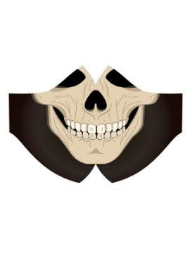 mascarilla de esqueleto higienica para halloween