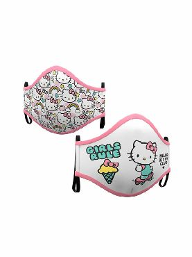 mascarilla de hello kitty reutilizable