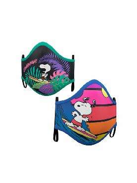 mascarilla de snoopy pack 2 reutilizable