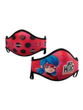 mascarilla higienica ladybug pack de 2 infantil