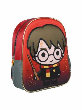 mochila de harry potter roja 3D infantil