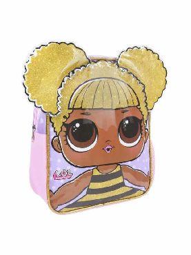 mochila lila infantil lol