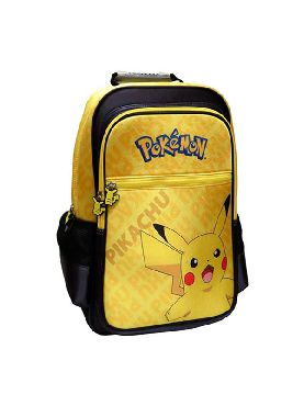 mochila pikachu pokemon adaptable 41 cm