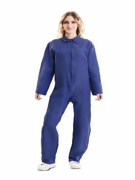 mono de trabajo azul adulto