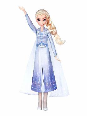 muñeca cantarina elsa frozen 2 disney 30 cm