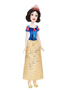 muñeca blancanieves brillo disney