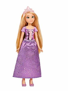 muñeca brillo real rapunzel disney