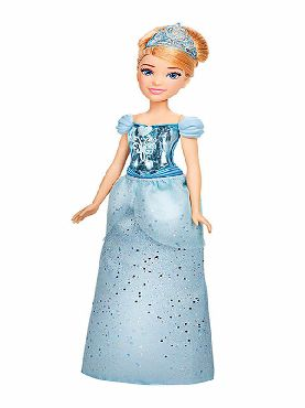 muñeca real cenicienta brillo disney