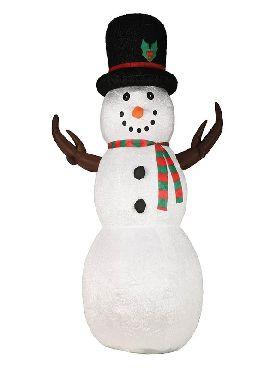 muñeco de nieve hinchable 260 cms