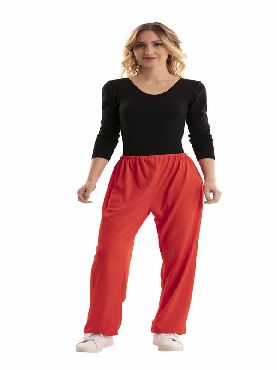 pantalon rojo adulto