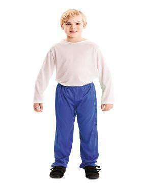 pantalon azul para infantil