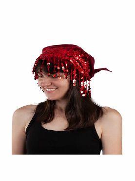 pañuelo para la cabeza lentejuelas