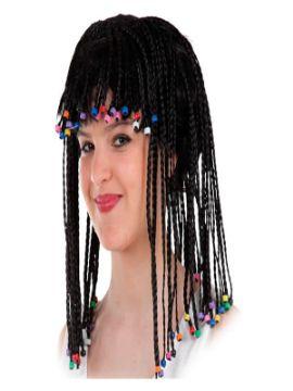peluca con trencitas africanas