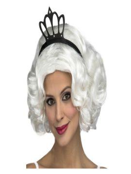 peluca de reina blanca 3ª edad