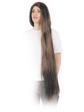peluca melena extra larga varios colores