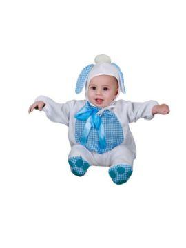 disfraz de perrito azul para bebe