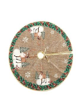 pie arbol decorado renos 70 cms