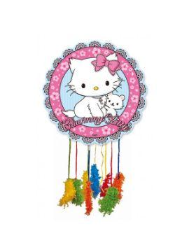 piñata de hello kitty mediana 43 x 43 cm para niñas