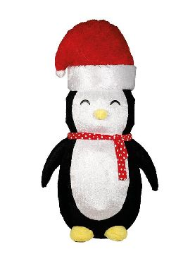 pinguino hinchable navidad 183 cms