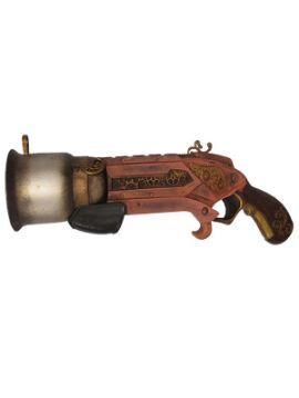 pistola trabuco steampunk de 32 cm