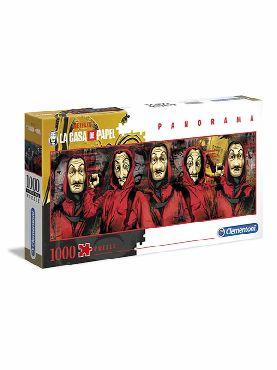 puzzle la casa de papel panorama 1000 piezas