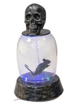 raton atrapado con luz de 41x27 cm
