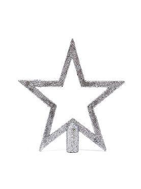 remate estrella plata 20 cms