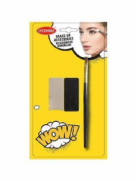 set de esponja y pincel de maquillaje