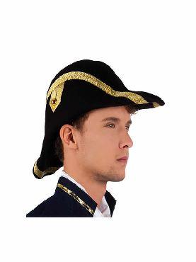 sombrero de almirante epoca adulto