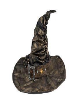 sombrero de bruja con hebilla deluxe