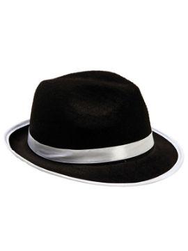 sombrero de gangster 58 cm